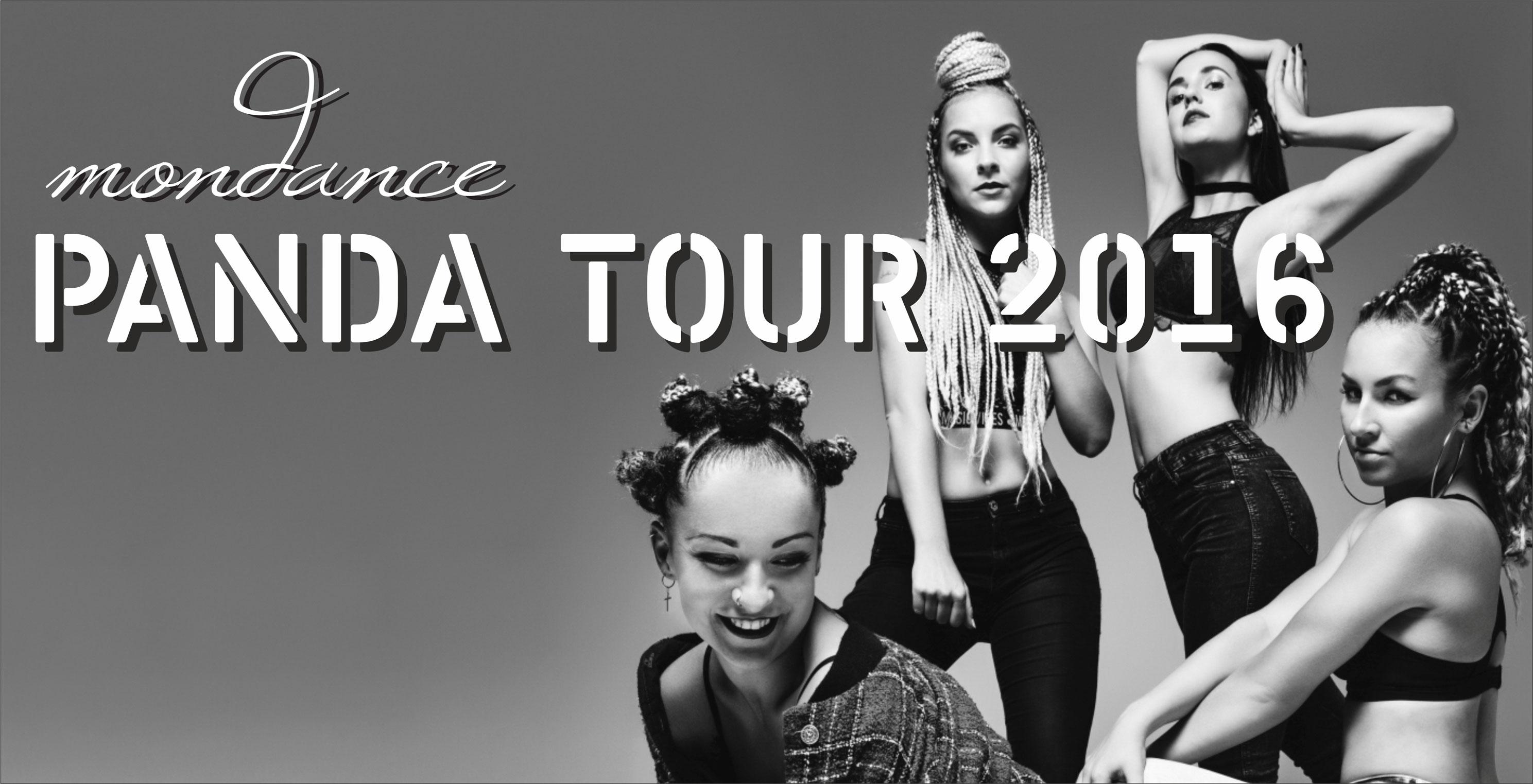 Mondance Panda tour 2016