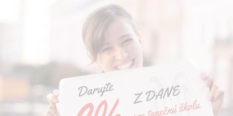 Darujte 2% pre tanečné duše D.S.Studia